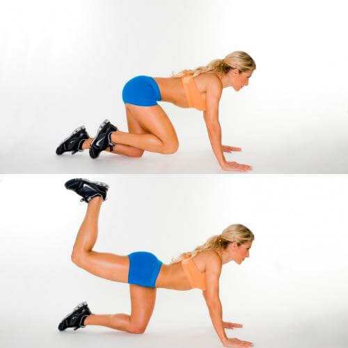 تقویت عضله سرینی یا باسن